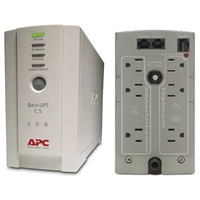 APC CS 500VA 120V Battery Back-UPS Power Supply for USB & Serial Connectivity