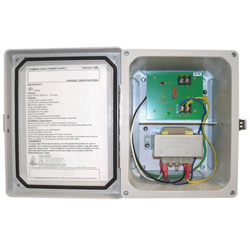 Hanwha PWR-24AC-1-3-ULW 1 Camera 24VAC 3Amp Power Supply