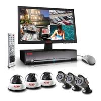 Revo 8CH DVR with 6 Cameras & 500GB HDD