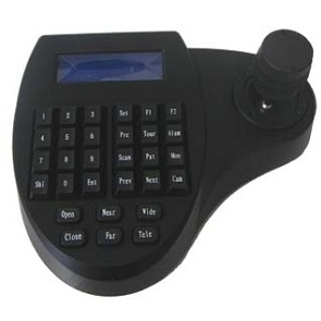 SCE 1019 PTZ Controller with 3-Axis Joystick