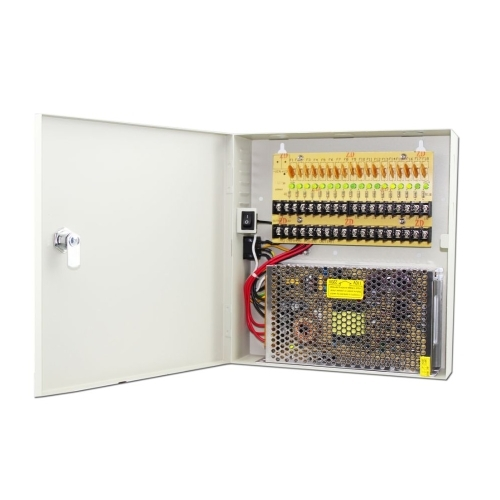 SCE CP1218-20A 18-Channel 20 AMP Power Distribution Box