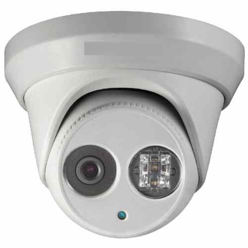 SCE 2332 3MP High Res. 4mm Lens Mini Dome Camera with Dot Matrix and 150FT IR