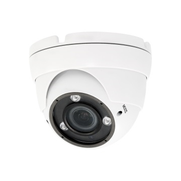 SCE 2.2MP 4-In-1 HD IR Dome Vari-Focal Camera (White)