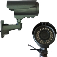 SCE 30J1000 1000TVL 720P IR Bullet Camera with Varifocal Lens (Black / Used)