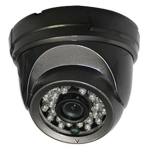 SCE 8018CN 700TVL Sony Effio-E IR Dome Camera (Black)