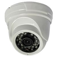 SCE 8018CN 700TVL Sony Effio-E IR Dome Camera (White)