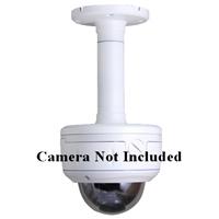 SCE BVP02E Indoor/Outdoor Aluminum Pendant Mount Bracket for Vandal Proof Dome Camera