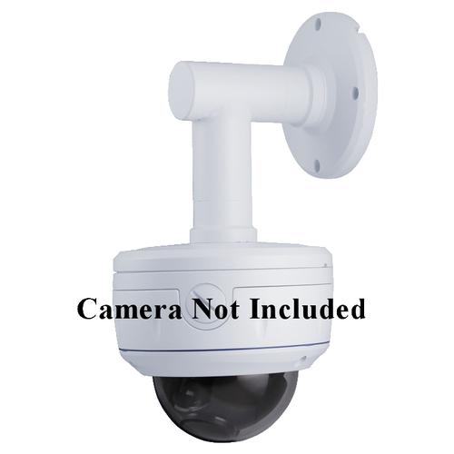 SCE BVW02E Indoor/Outdoor Aluminum Wall Mount Bracket for Vandal Proof Dome Camera