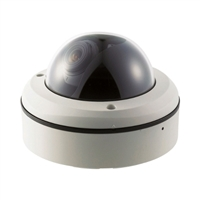 SCE CD6002W 600TVL Cmos Plastic Dome Camera (Used)