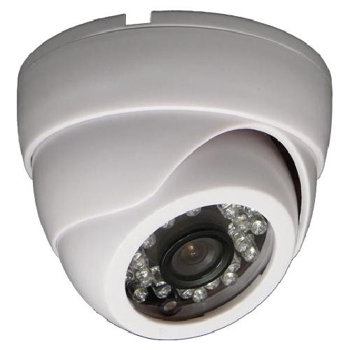 SCE CM2115 850 TVL CMOS HD IR Camera (White)