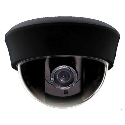 SCE CM2127 850TVL Pixel Plus 4-9mm Lens Indoor Dome Camera (Black)