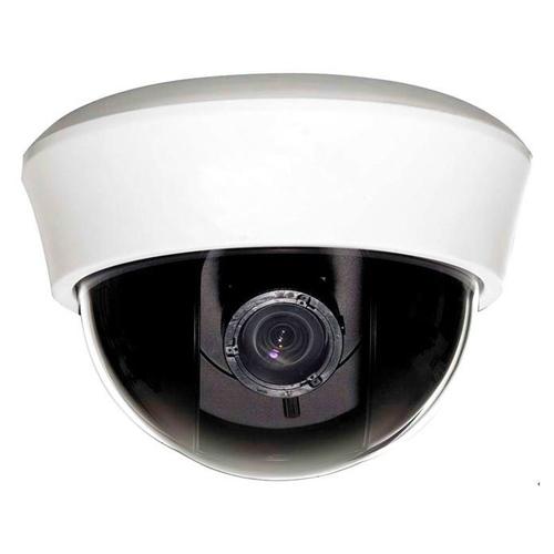 SCE CM2127 850TVL Pixel Plus 4-9mm Lens Indoor Dome Camera (White)