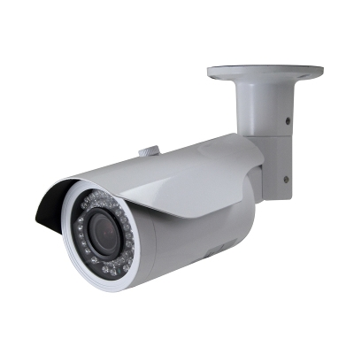 SCE HD-SDI IR Weatherproof VARI-FOCAL Bullet Camera (White)