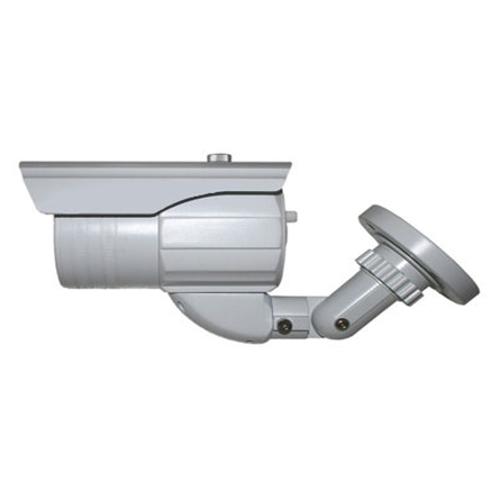 SCE CRB6143ENO 650TVL External Adjustable 98FT IR Weatherproof Bullet Camera (White)