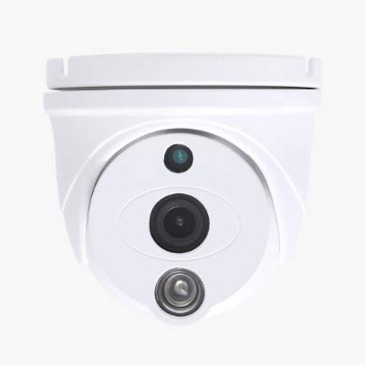 SCE HD-TVI Fixed Lens Dome Camera (White)
