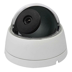 SCE SD2MFDATCW HD Over Coax Hybrid 4 in 1 1080P Video Dome Camera (White)