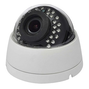 SCE SD2MIVFDATCW HD Over Coax Hybrid 4 in 1 1080P Video Dome Camera (White)