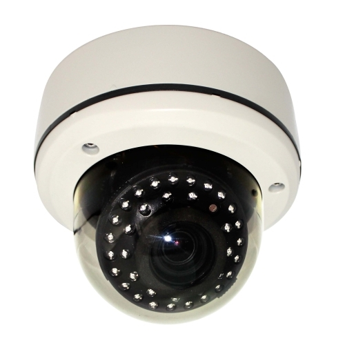 SCE SD4800DC 2MP HD-SDI Outdoor Varifocal Dome Camera