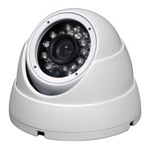 SCE SEB2MIFATCW HD Over Coax Hybrid 4 in 1 1080P Video Dome Camera (White)
