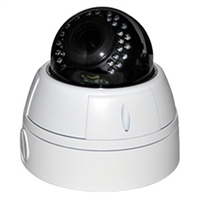 SCE SVD2MIVFATCW HD Over Coax Hybrid 4 in 1 1080P Video Dome Camera (White)