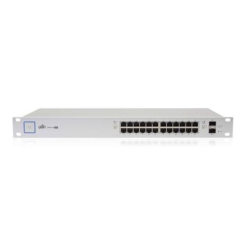 Ubiquiti US-24-250W UniFi 24-Port 250-W Managed PoE+ Gigabit Switch with SFP