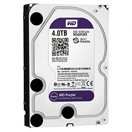Western Digital Purple WD40PURZ 4TB Hard Drive