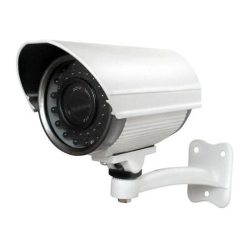 ZMODO CM-S24921BW-AD 650TVL High Resolution Weatherproof Camera with 130' IR (Used/White)